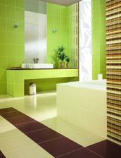 další barevná změna koupelny..líbí se oběma, tak snad už poslední verze :-)