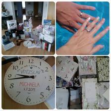 Fotka - jeden den po svatbě, rozkoukávání, užívání a rozbalování darů :)