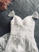 Boho svatební šaty vel.M, 38
