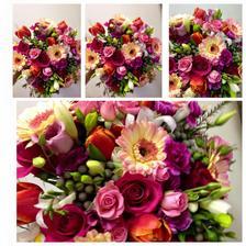 První vybraný typ a barevnost svatební kytice od Květinářství Žaneta v UH :-) - paní Burešová