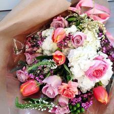 Druhý vybraný typ a barevnost svatební kytice od Květinářství Žaneta v UH :-) - paní Burešová