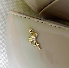 Detail zlatého plameňáka u kotníku :-) Je boží! :-)