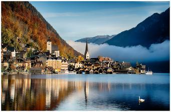 Pak navštívíme Hallstatt a jeho kouzelnou atmosféru :-)