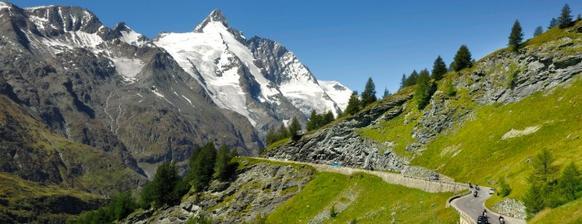 Pak nás čeká Grossglocknerská vysokohorská silnice a spooousta natáčení :-)