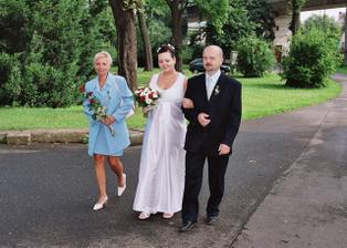 nevěsta s rodiči