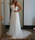 svadobné šaty ivory , 40