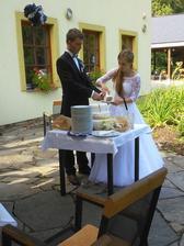 Byla radost obsloužit hosty takovým dortem!