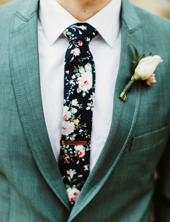 Kvetiny na ženíchovi? Prečo nie... - Obrázok č. 20