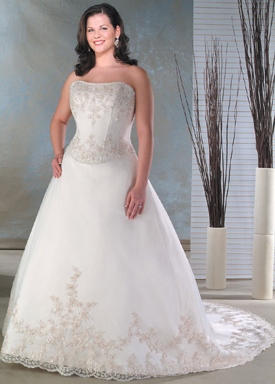 Plus size bride :o) - Obrázek č. 97