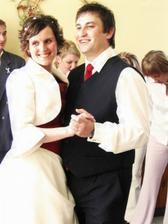 Taneček novomanželů.