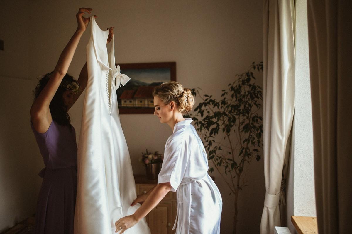 Svatební účes pro nevěstu Helenku | Farma Blaník - Obrázek č. 3