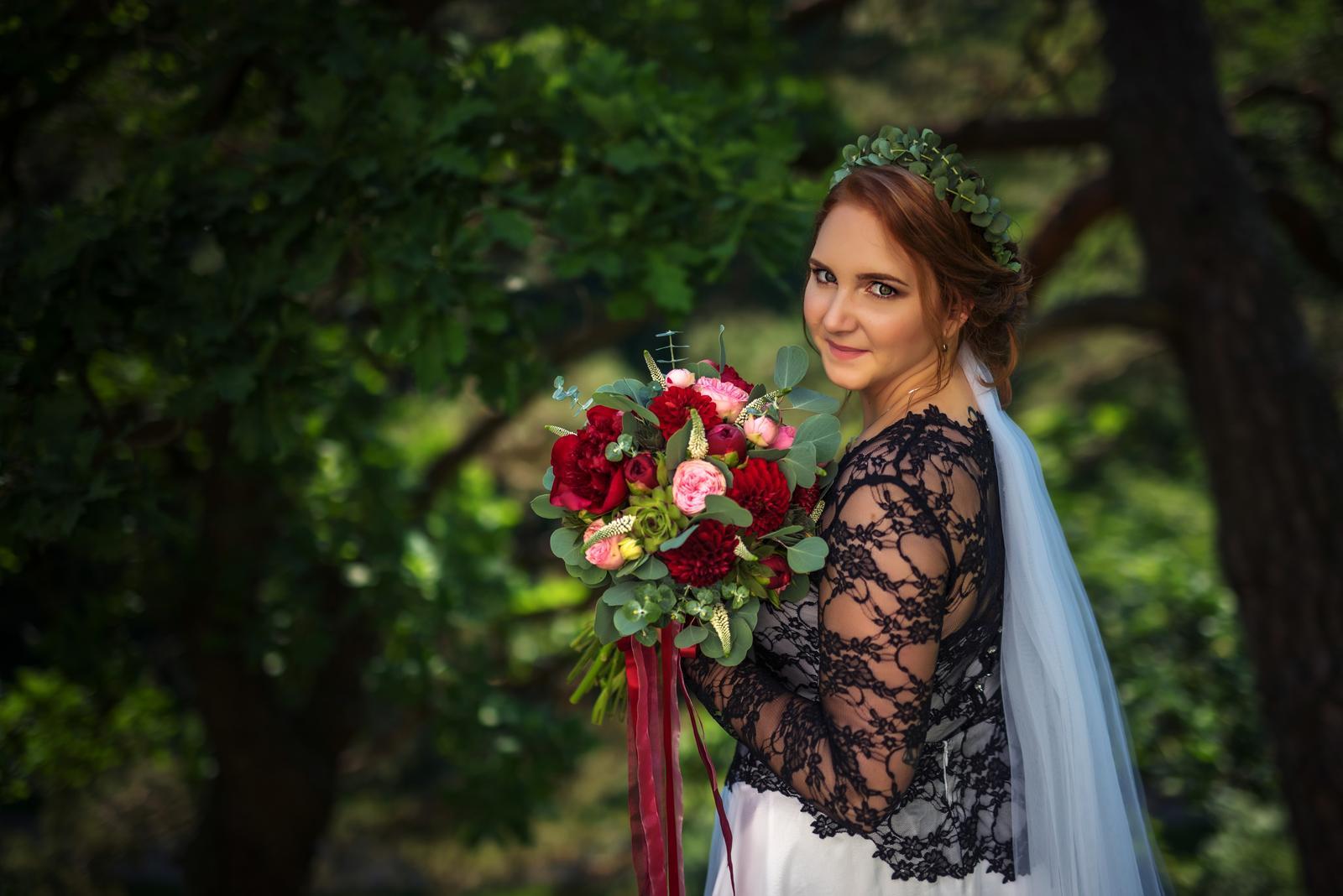 Svatební líčení a účes pro nevěstu Zdeničku | Vlašim - Obrázek č. 1