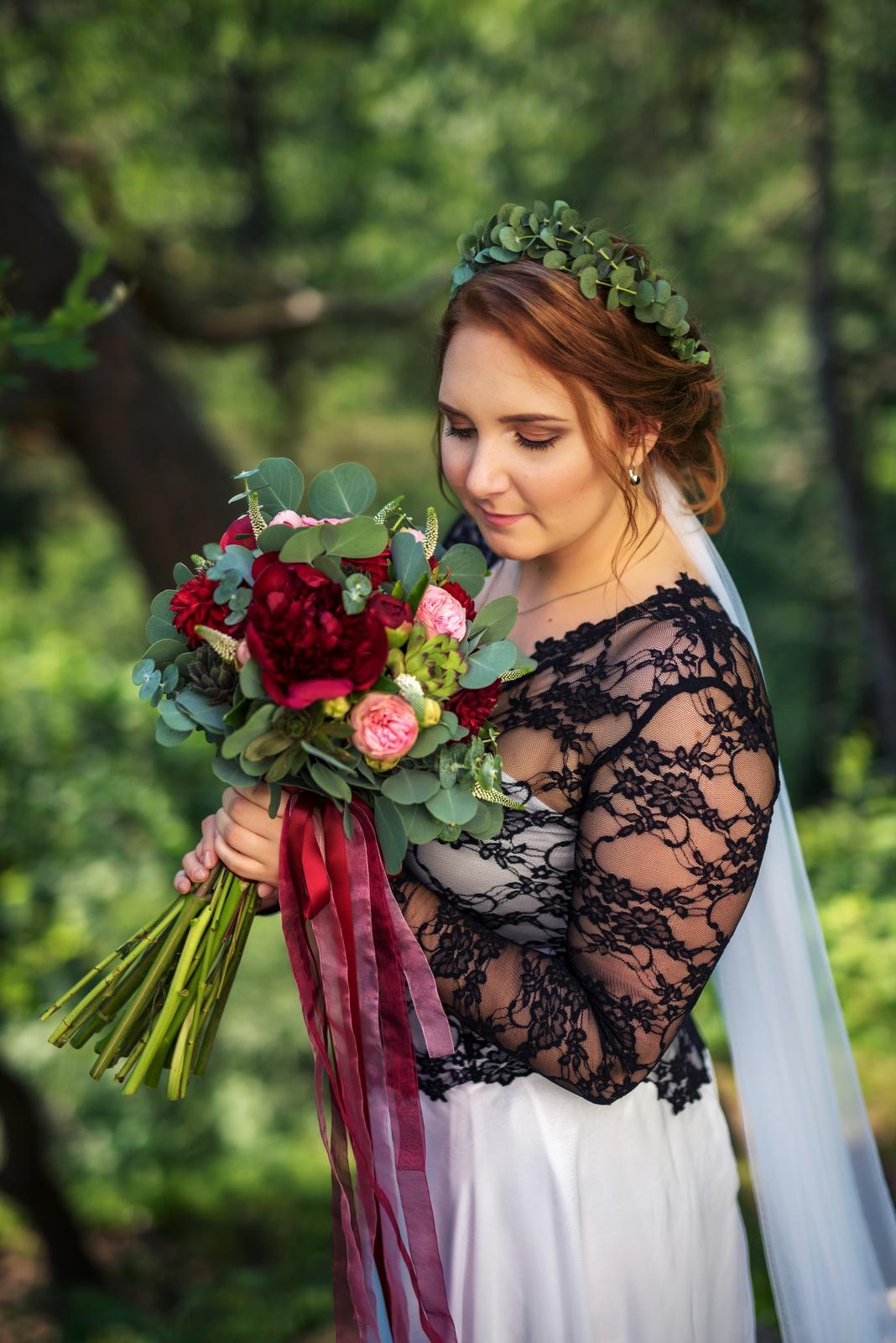 Svatební líčení a účes pro nevěstu Zdeničku | Vlašim - Obrázek č. 2