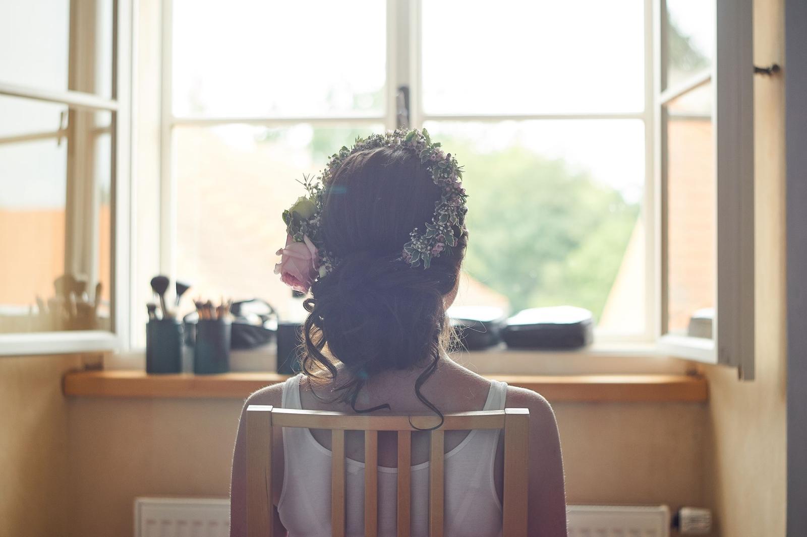Svatební líčení a účes pro nevěstu Verču | Sedlčany - Obrázek č. 1