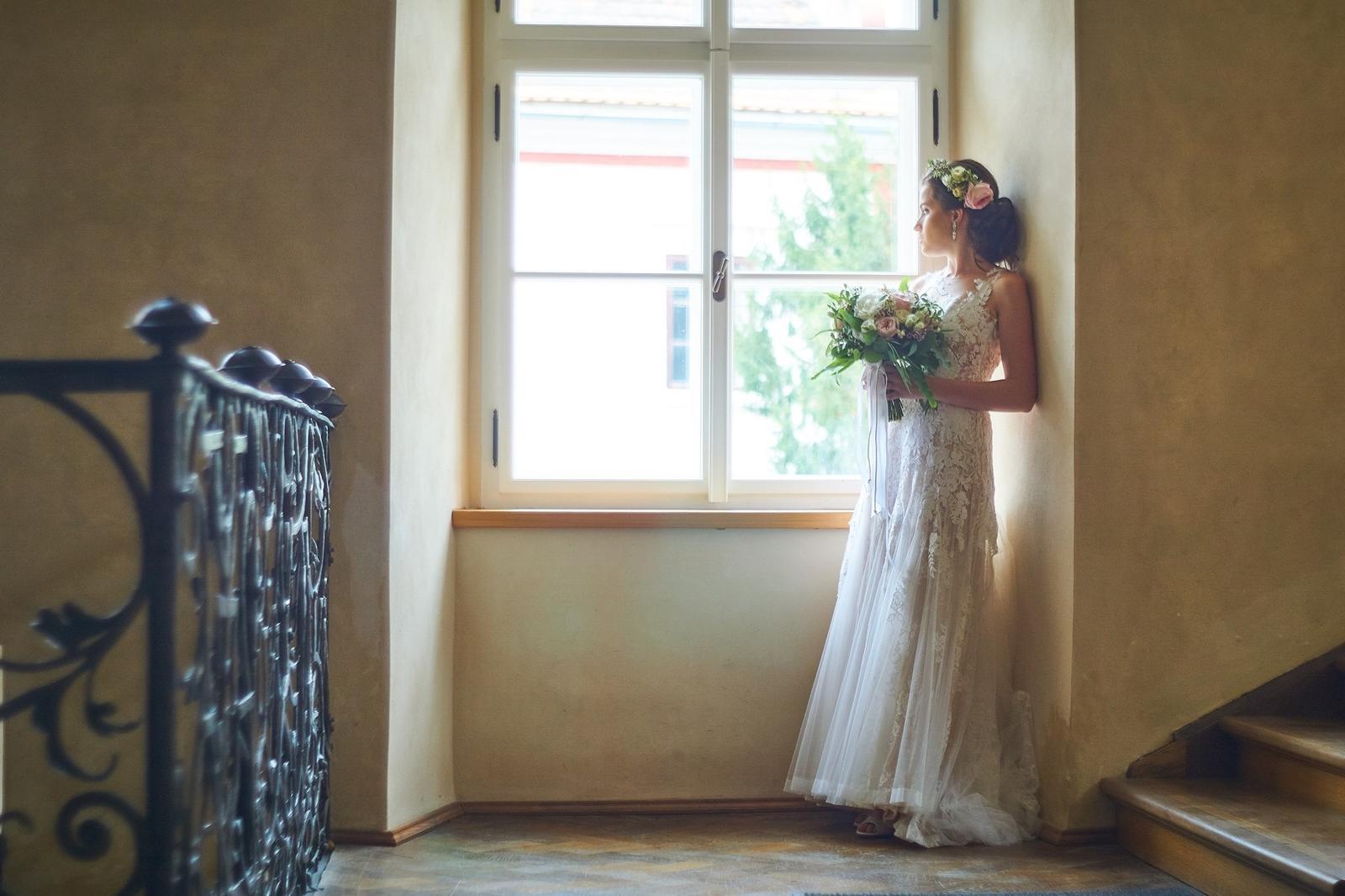 Svatební líčení a účes pro nevěstu Verču | Sedlčany - Obrázek č. 2