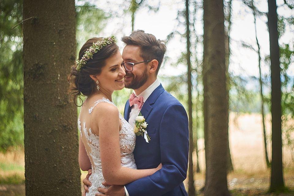 Svatební líčení a účes pro nevěstu Verču   Sedlčany - Obrázek č. 5