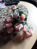 Umělé květiny k dekoraci,
