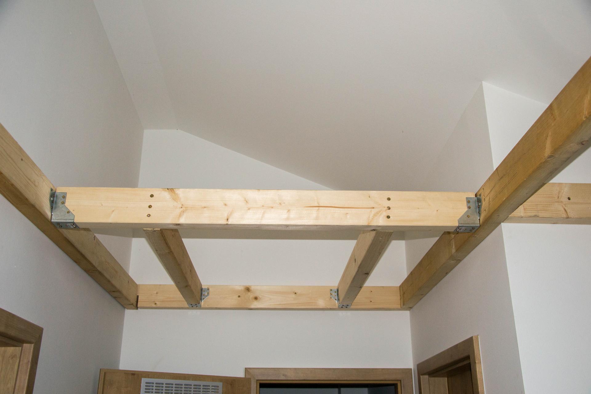 Půda - Kubis 74 - Vytvoření prostoru na půdní schody ...
