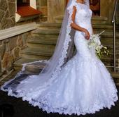 svatební šaty diane legrand  34-36, 34