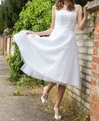 retro svatební šaty styl 50. léta, 36