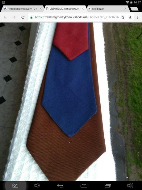 Retro panske kravaty - Obrázok č. 1