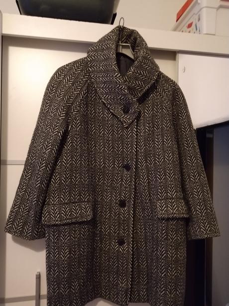 Čiernobiely kabát c.50 - Obrázok č. 1