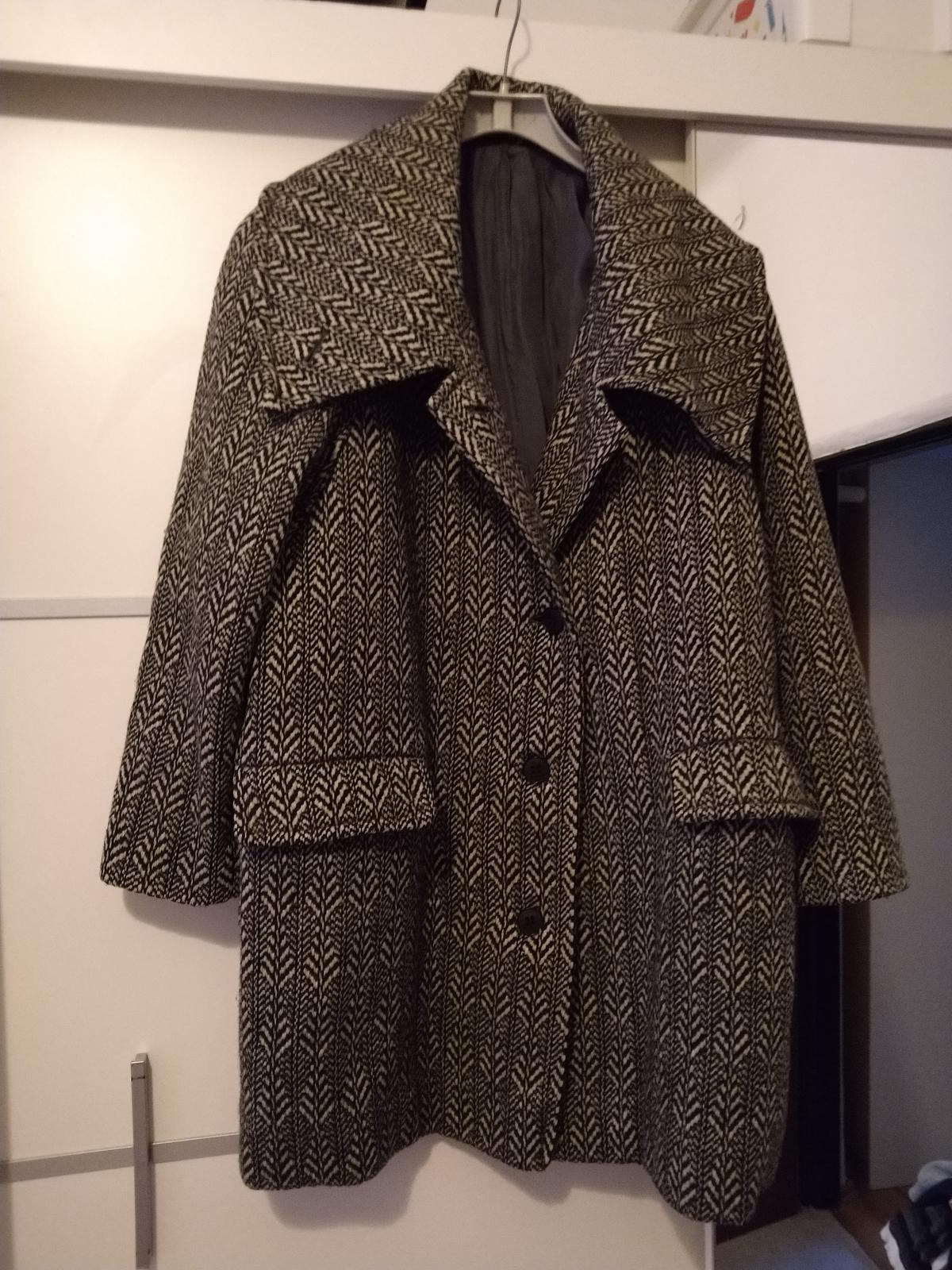Čiernobiely kabát c.50 - Obrázok č. 4