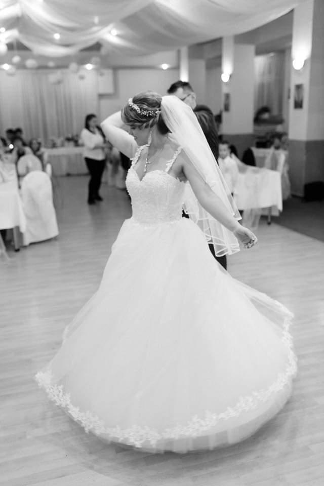 Svadobné šaty veľkosť M - Obrázok č. 4
