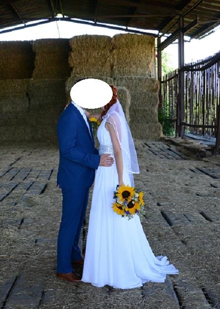 Svatební šaty vel. 36 - Obrázek č. 2