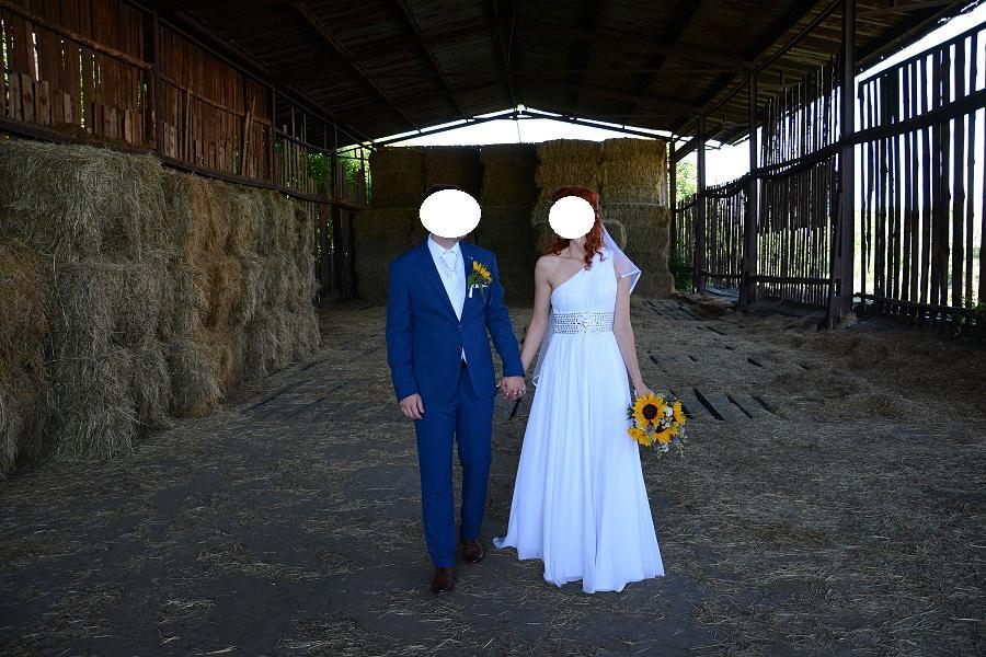 Svatební šaty vel. 36 - Obrázek č. 3