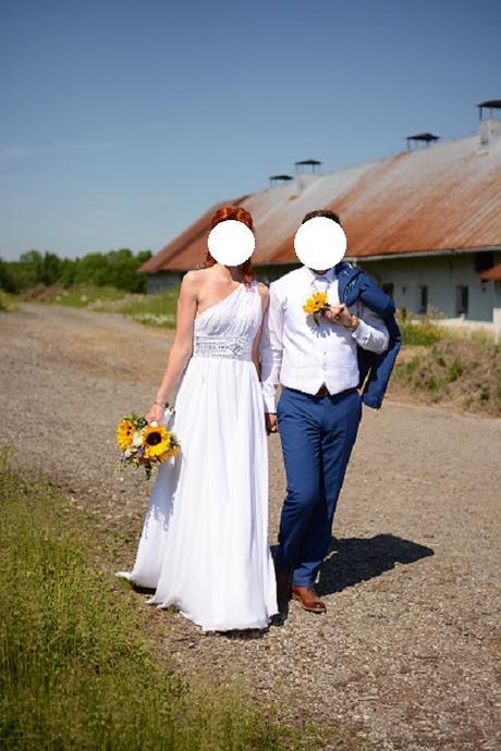 Svatební šaty vel. 36 - Obrázek č. 4