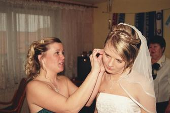 poslední úpravy nevěsty