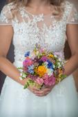 Svatební šaty - barva ivory, 38