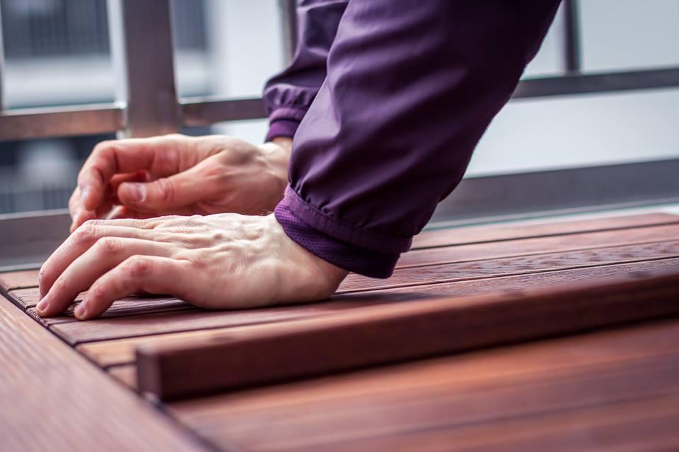 gumi - samomontaz podlahy