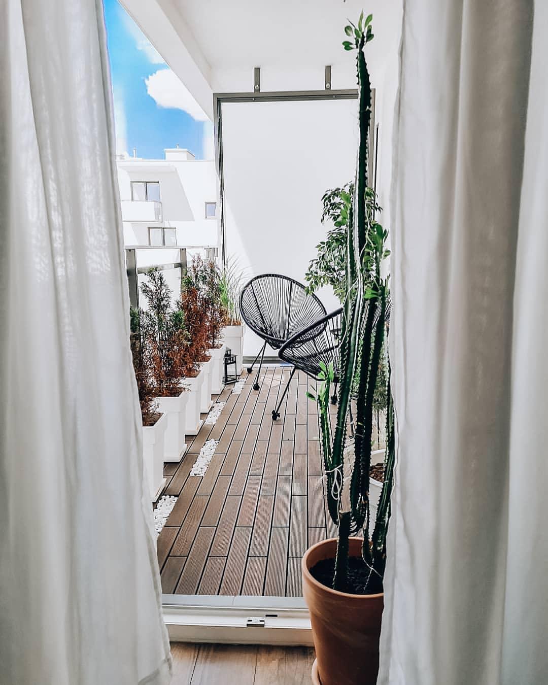 Drevená podlaha na balkón - Terasu. Terasové dlaždice - Obrázok č. 1