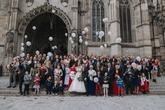 Aj hromadné vypúšťanie balónov je súčasť koordinácie svadby, na povel :)