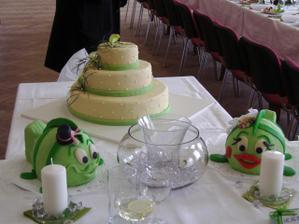 naše dortíky :-)