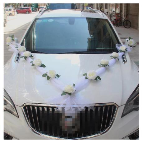 Nová výzdoba na auto (biela) - Obrázok č. 1