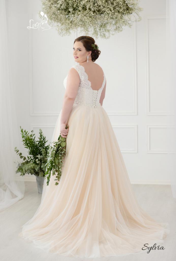 Nové svadobné šaty (40-46) - Obrázok č. 3