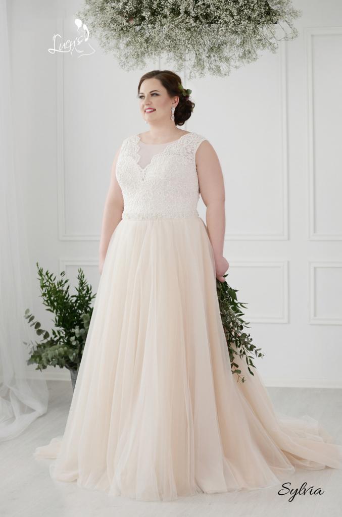 Nové svadobné šaty (40-46) - Obrázok č. 4