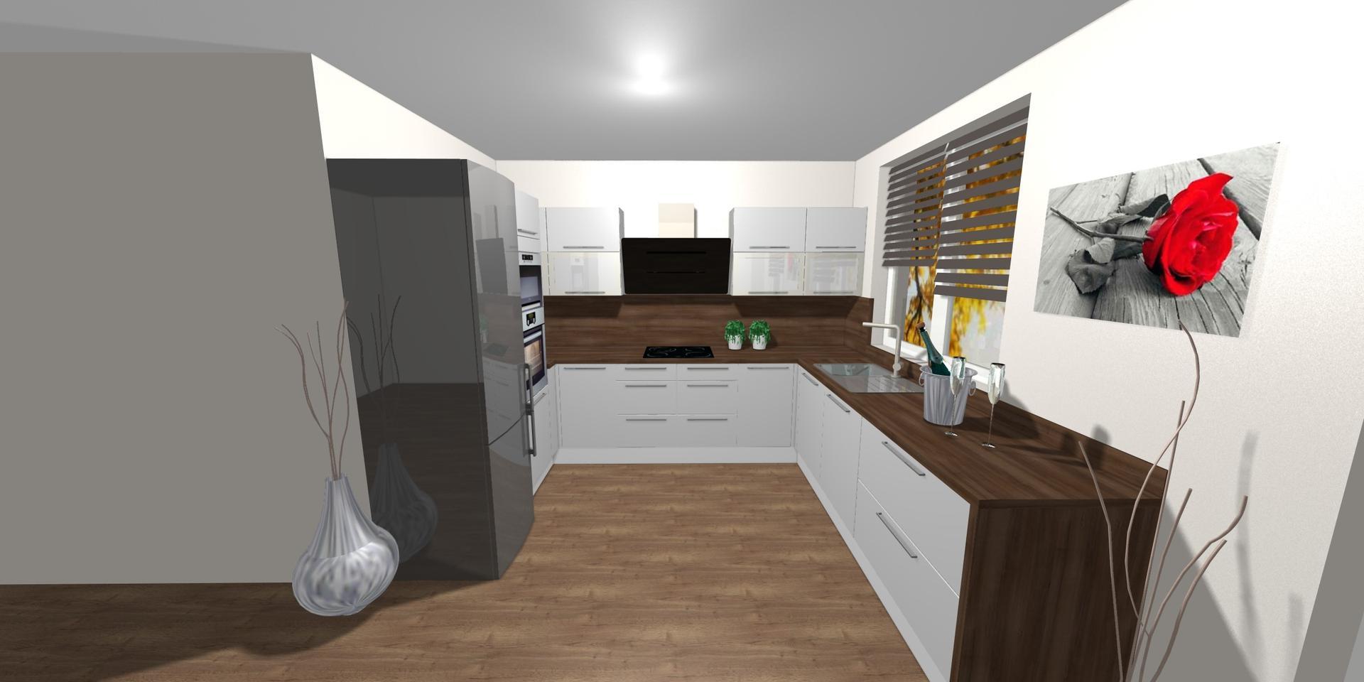 Kuchyně- plány x realita - Obrázek č. 1