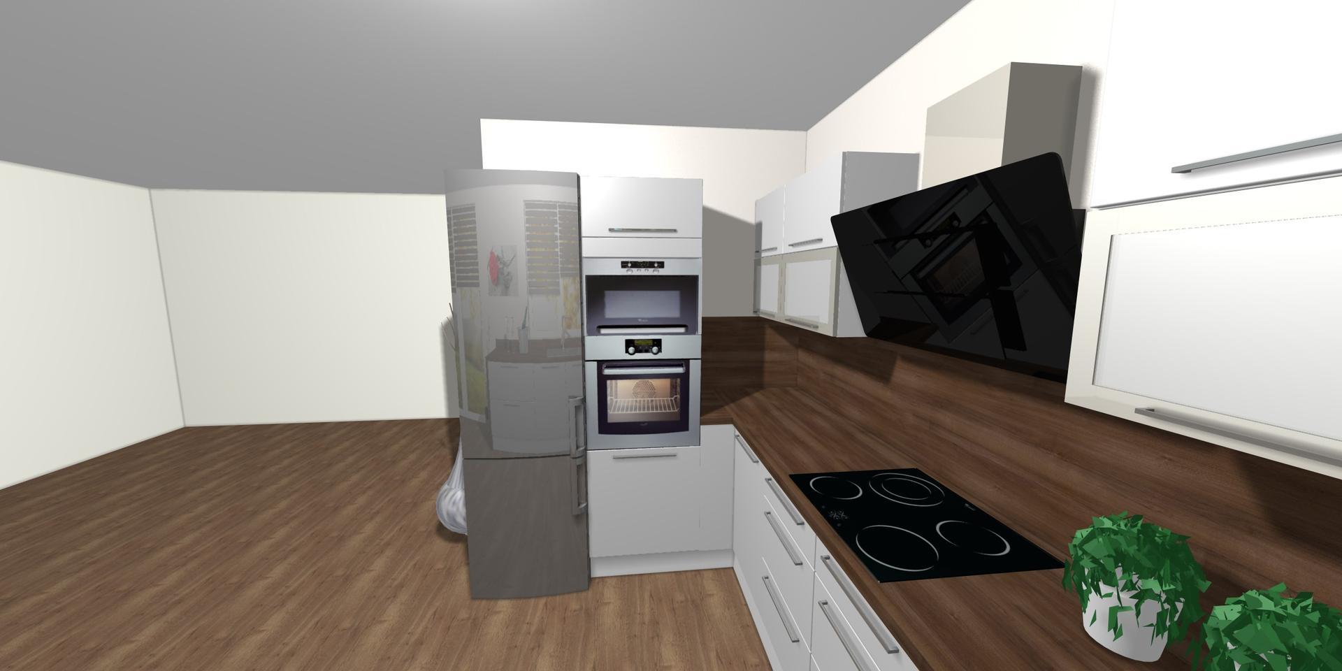 Kuchyně- plány x realita - Obrázek č. 3