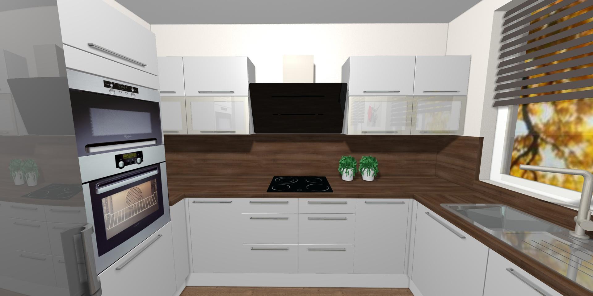 Kuchyně- plány x realita - Obrázek č. 4