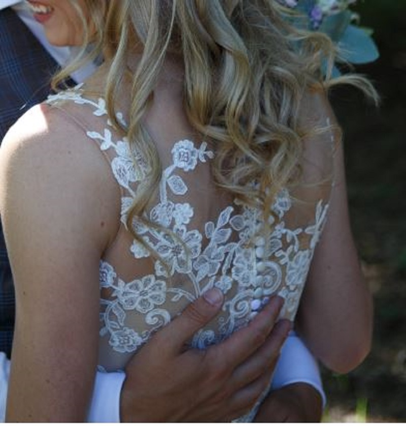 Boho svatební šaty Madora - Obrázek č. 1