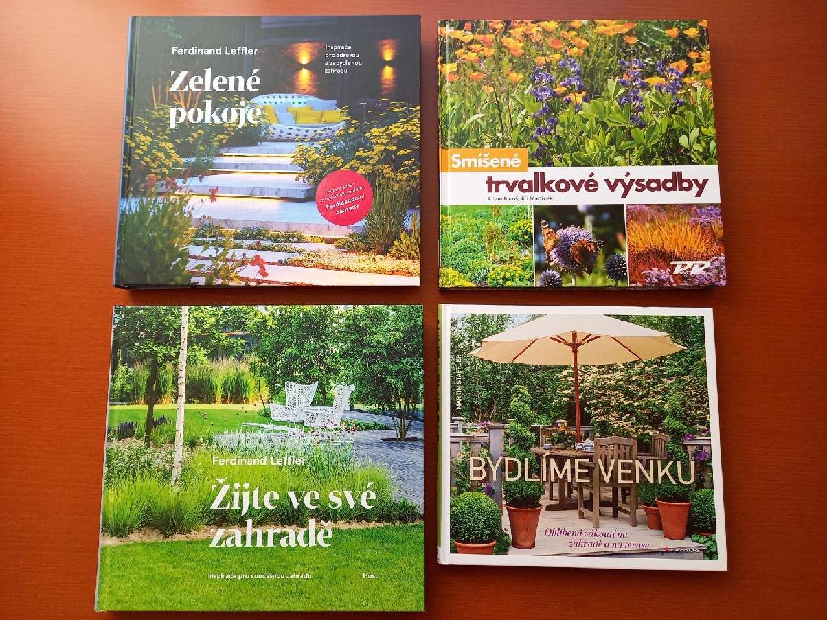 Knihy o zahradě - Obrázek č. 1