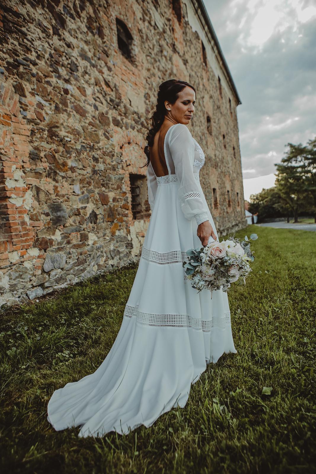 Svatební boho šaty - Obrázek č. 1