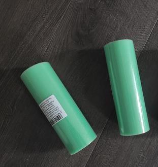 tyl dekorační 15x9 zelená mint 3ks - Obrázek č. 1