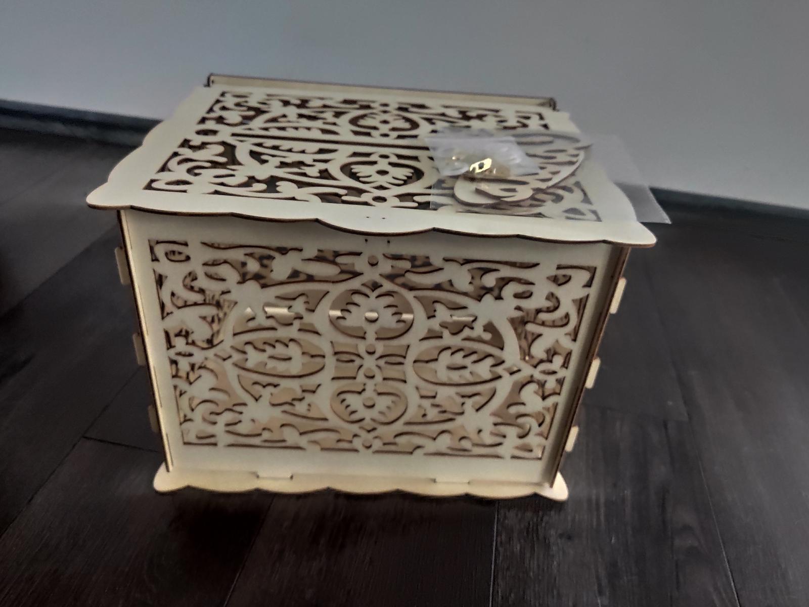 Box na svatební přání -nepoužitý - Obrázek č. 1