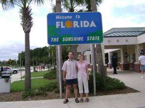 nas 1. vstup na slnecnu Floridu