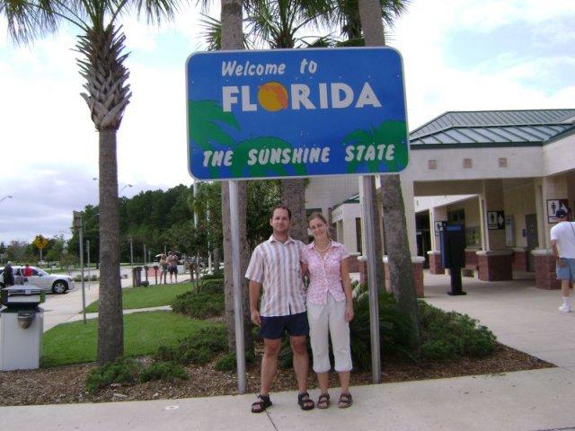 ZÁSNUBY - nas 1. vstup na slnecnu Floridu